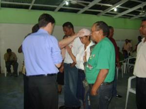 Ministering in La Vega